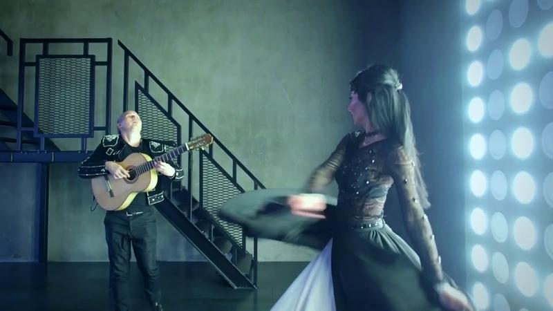 Испанская гитара. Antonio Mazarini.