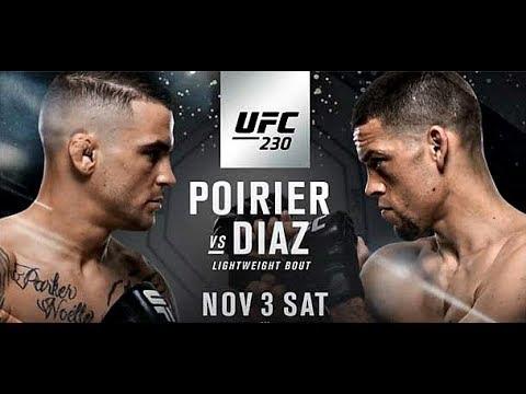Diaz vs Poirier PROMO UFC 230