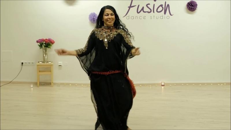 Iraqi Dance khashaba Assala Ibrahim in Czech Republic رقص عراقي خشابه