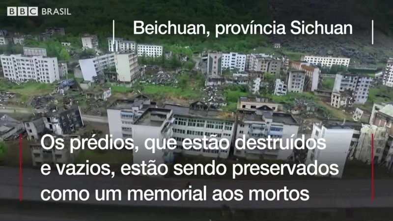 As cidades desertas devastadas por terremoto há dez anos que viraram atraçã