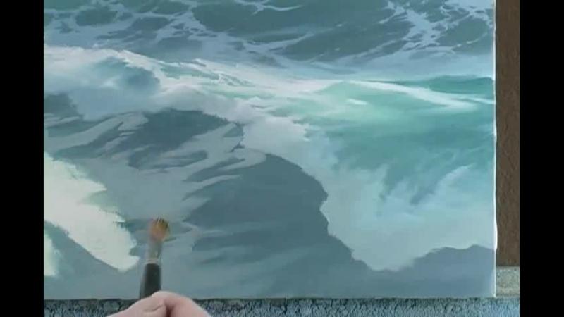 Видеоурок по рисованию моря от Byron Pickering часть.2 ..HD Video КИНОЗАЛЫ У НАРКОМЫЧА..VIP