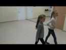 Урок дефиле в детской школе моделей Be vogue