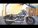 Юбилейный Harley-Davidson Forty-Eight заяви о себе!