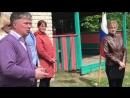 Открытие военно спортивных сборов для старшеклассников в Краснобаковском районе