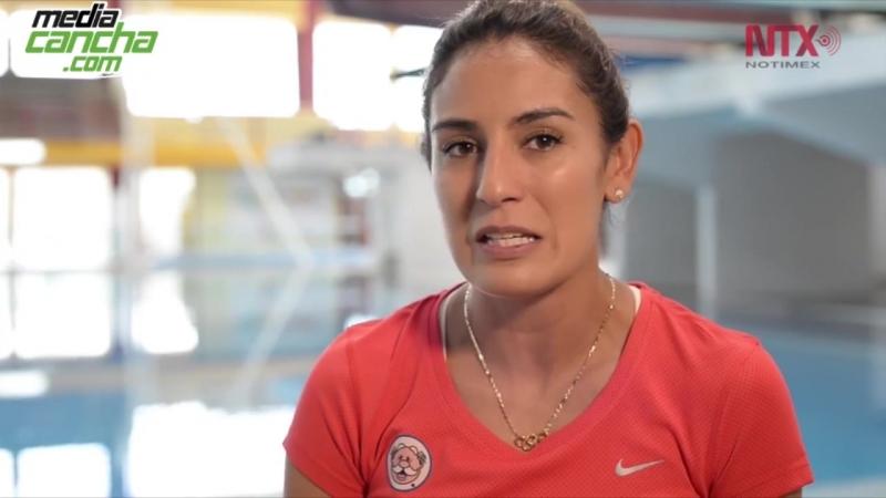 Paola Espinosa en busca de otra medalla olímpica