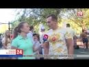Доступный спорт — в Симферополе! Прямое включение корреспондента телеканала «Крым 24» Анны Ничуговской