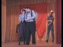 выступление на 16 районном конкурсе Театр. подмостки 15 апреля 2009 г. Сцена из спектакля Мы, Хогбены...