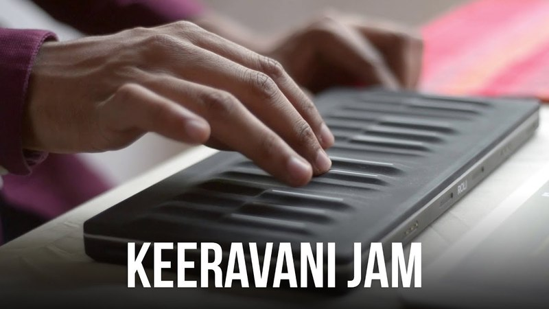 "Keeravani Jam | ROLI ""Colours of India"" Soundpack Demo"