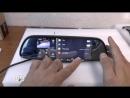 Зеркало-видеорегистратор Car DVRs Mirror держатель для телефона Smartmount Car в подарок