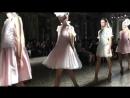 TIANYI LI show, S/S19 collection. Milan Fashion Week 2108.