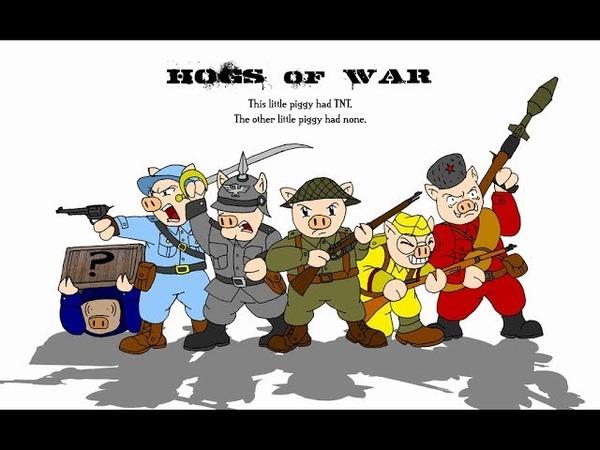 PS1 Gauntlet [Hogs of War] (Yettich) часть 40 - ФИНАЛ на соплях!