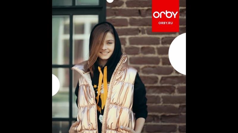Orby Осень 2018 – жилет для девочки