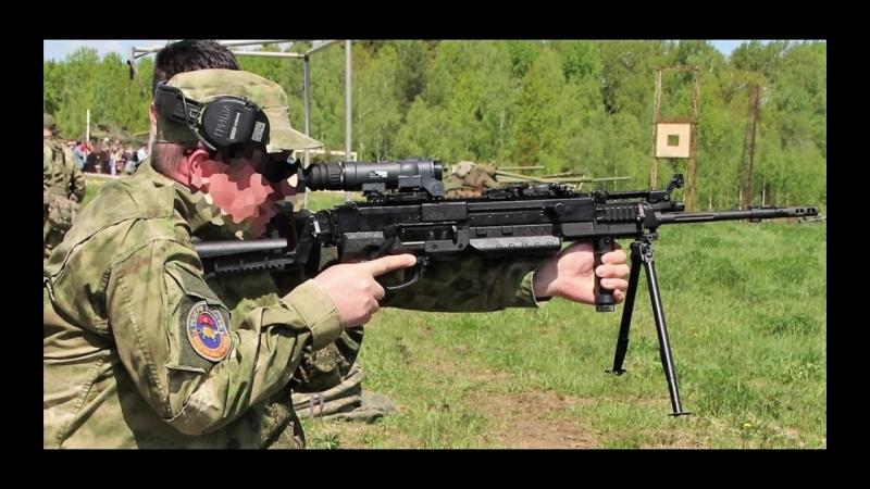 Новый российский пулемет для спецназа токарь 2 КОРД 5 45 РПК 16