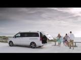 Mercedes-Benz V-Klasse  - минивен, который мы используем для трансфера
