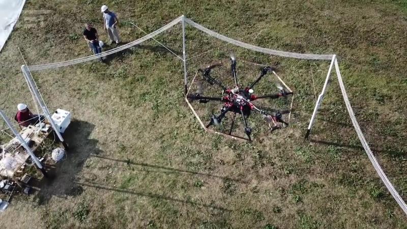 Простейшая зарядная станция для дронов