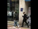180521 Stray Kids » 3RACHA » Near the building JYP