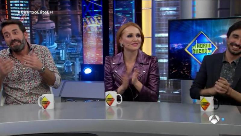 El Hormiguero 3.0 Cristina Castaño, Antonio Garrido y Canco Rodríguez