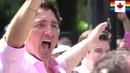 PM Justin Trudeau 2018 Vancouver Pride Parade (Aug 05) LBGTQ Gay Lesbian Queer
