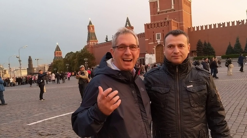 AppiTravels Appi CEO in Moscow AppiMoscow Red Square