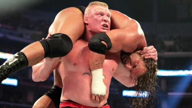 WH Present Triple H vs Brock Lesnar WWE SummerSlam 2012 Highlight