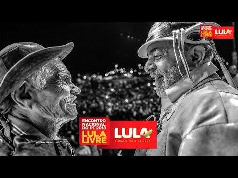 Convenção Nacional do PT para oficializar a candidatura de Lula.