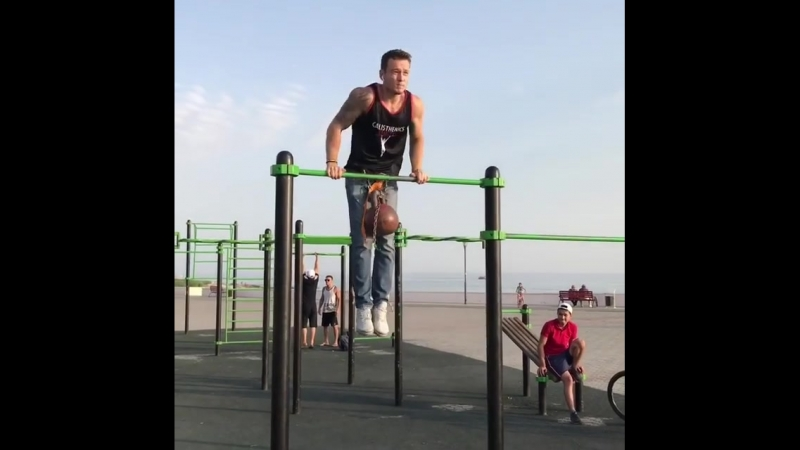 11 muscle-ups 16kg   @ildar_calisthenics