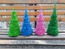 триллер 1 новогодняя елка из фоамирана