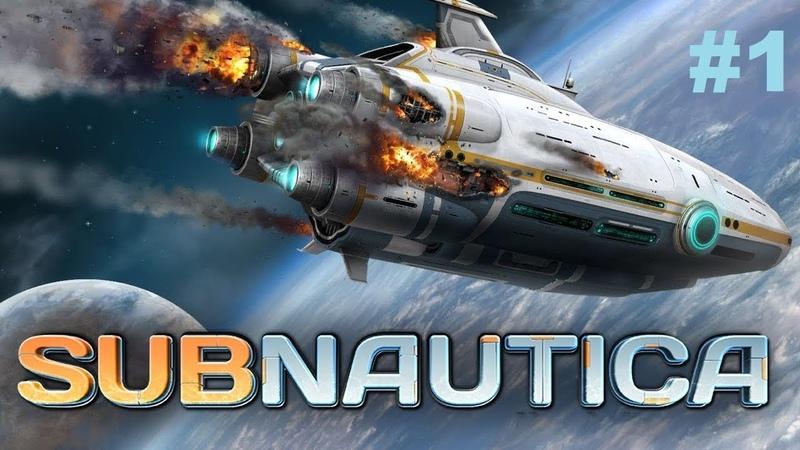 Subnautica: В пучины океана! 1