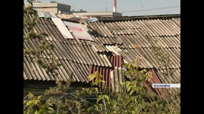 Дом на Брянской разваливается в труху. Жилищники давно отказались его обслуживать