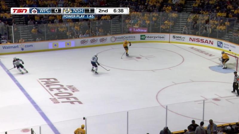 NHL 2018-2019 RS 11.10.2018 Winnipeg Jets vs Nashville Predators