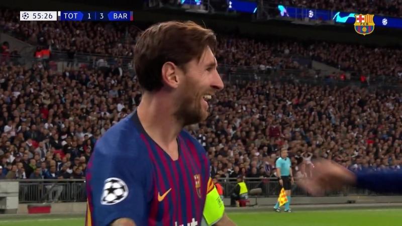 Tottenham FC Barcelona 2 4