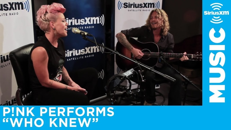 P!NK Who Knew Acoustic SiriusXM The Pulse