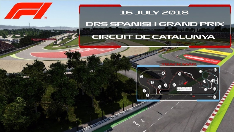 F1 2017 - DRS F1 CHAMPIONSHIP - SPAIN OFFICIAL HIGHLIGHTS