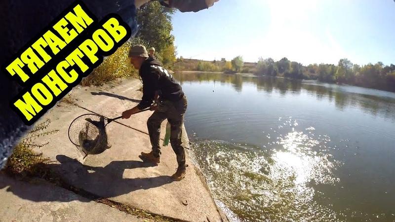 Рыбалка 24 Часа Разловил Блесну Грушка ТОЛСТОЛОБОМ Ночевка в Диком Лесу
