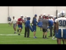 Colts Luck ran through the hitting gauntlet today at ColtsCamp