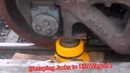 Removing And replacement of Rail Wagon Wheels Must Rare video