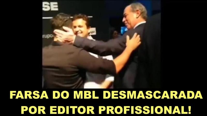 Editor profissional DESMASCARA a FARSA do MBL em vídeo! Ajudem a compartilha...