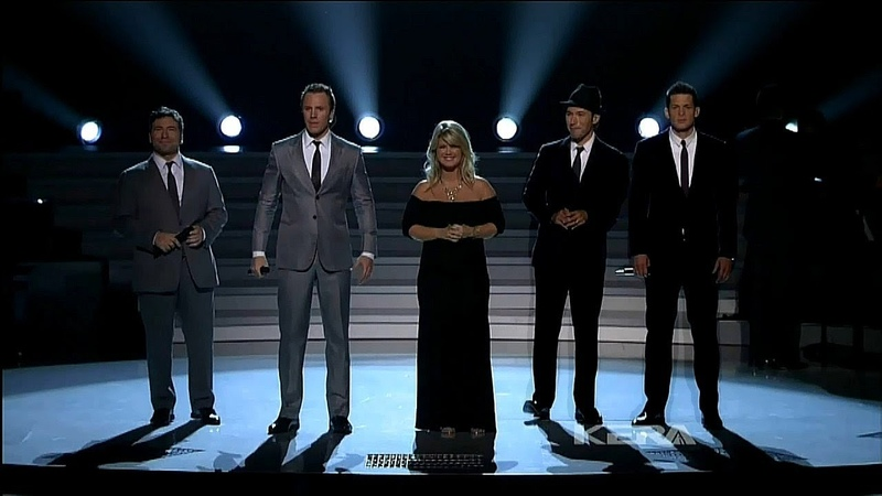 The Tenors Natalie Grant - Amazing Grace