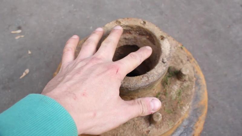 Тормозной диск от грузовика времен войны (Германия, Франция, Чехословакия, США)