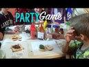 Super Fun Birthday Game Kids Create Crazy Sandwiches in Kitchen