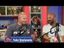Фёдор Емельяненко на шоу ESPN (часть 1)