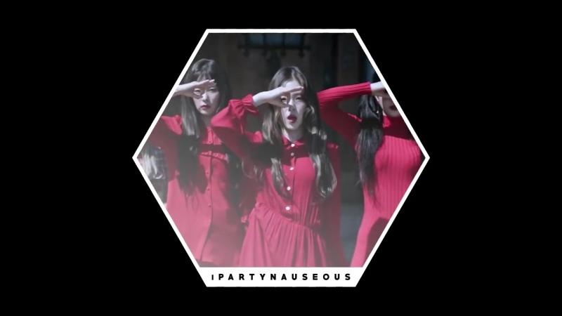 Mushup: blackpink whistle X red velvet peek-a-boo