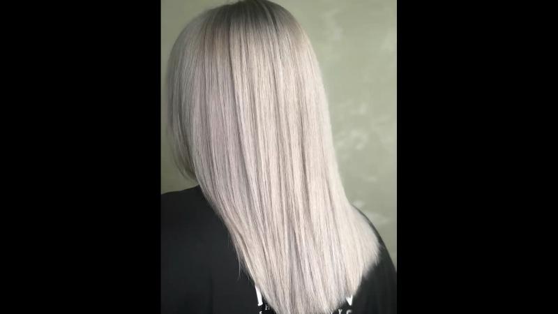 Идеальный блонд До/После