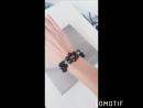 Чарующий браслет из черного агата и грен нефрита. (720p).mp4