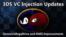 3DS VC Injection Updates: Genesis and SNES Improvements