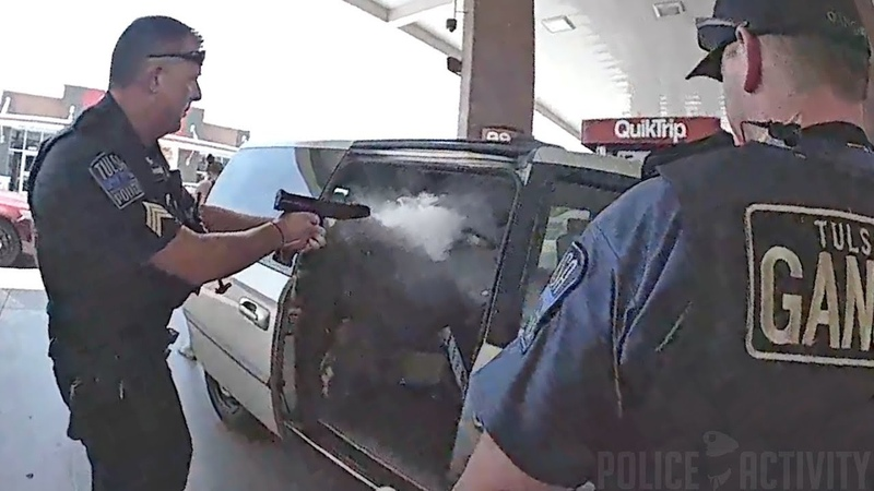Bodycam Footage Shows Police Shootout in Tulsa, Oklahoma