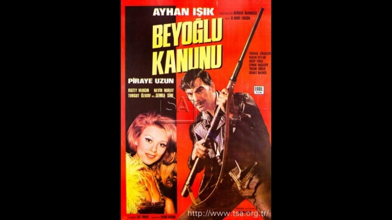 Beyoğlu Kanunu - Ayhan Işık Piraye Uzun (1971 - 71 Dk)