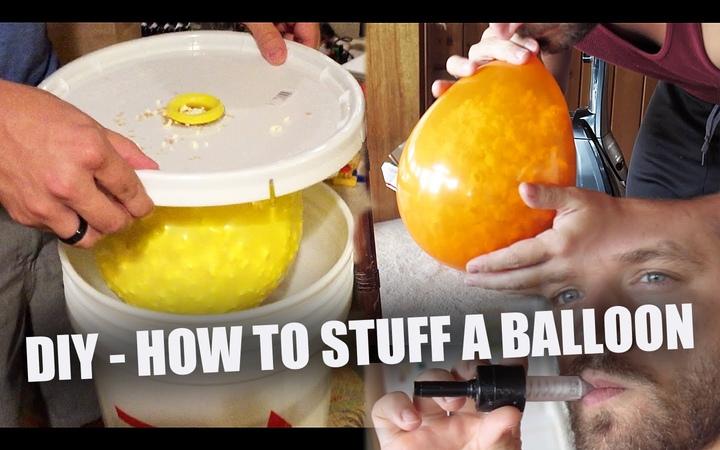 Сделай сам (сделай сам) баллончик, узнай, как набить воздушный шар за дешево чем угодно