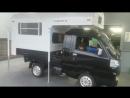 Установка мини-домика J-Cabin mini WJ в мини-грузовик.