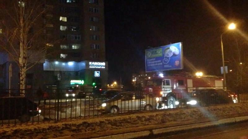 Пожар на РаМусе Нижнекамск 15.02.18